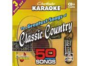 Chartbuster Karaoke CDG CB5006 The Greatest Songs of Classic Country