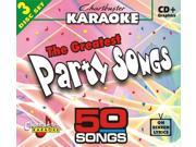 Chartbuster Karaoke CDG CB5010 The Greatest Songs Party Songs
