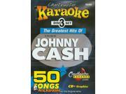 Chartbuster Karaoke CDG CB5050 The Greatest Hits of Johnny Cash