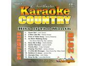 Chartbuster Karaoke CDG CB60451 - Country Hits of the Month November 2010