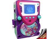 Sakar Shake It Up CD/CDG Karaoke All-In-One Machine (Purple/Magenta)