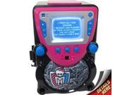 Sakar Monster High CD/CDG Karaoke All-In-One Machine (Black/Pink)