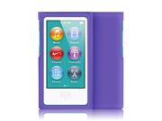 MiniSuit JAZZ Slim Snap-On Hard Shell Case Cover for Apple iPod Nano 7 (Rubberized Purple)
