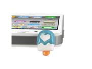MiniSuit Universal Cell Phone Dustplug for 3.5mm Earphone Jack Cap (Blue/White Ice Cream Bar)
