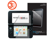 MiniGuard Ultra Clear HD Top Screen Protector for Nintendo 3DS XL (3x Pack)