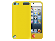 MiniSuit MIXX Case for iPod Touch 5 - Two Tone Soft Rubberized Cover (Yellow)