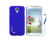 MiniSuit Bundle for Samsung Galaxy S4 - Slim Matte Case, Screen Protector, Stylus (Blue Set)