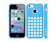 Minisuit TPU Holes Design Case Cover for iPhone 5C (Blue)