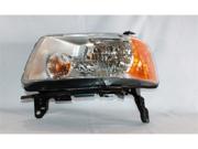 TYC 20-6600-00 Left Side Headlight Assembly