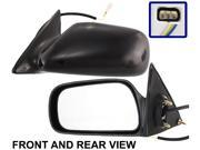 CAMRY 97-01 SIDE MIRROR LEFT DRIVER, Power, Black