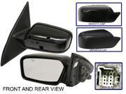 FUSION 06-11 SIDE MIRROR LEFT DRIVER, Power, 2 Caps (Smooth & Textured)