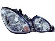 LEXUS GS300/400/430 98-00 HEADLIGHT PAIR SET NEW W/O HID