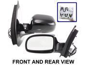 FORD WINDSTAR 99-00 SIDE MIRROR LEFT DRIVER, POWER, HEATED, FOLDING, KOOL-VUE