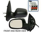 FORD WINDSTAR 95-98 SIDE MIRROR LEFT DRIVER, POWER, HEATED, FOLDING, KOOL-VUE
