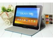 360° Rotating leather case for Samsung Galaxy Tab 10.1 P7510/P7500