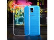 Brainydeal Ultra Thin Clear Transparent Crystal TPU Case Cover for Samsung Galaxy S5 i9600