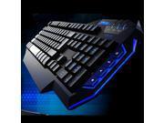 USB Wired 4-levels Backlit Adjustable professional Gaming Keyboard for Desktop PC, Computer, Laptop, Notebook Multimedia Function keys