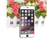 2.5D High Quality Real Tempered Glass Screen Protector Film Guard Metallic Silver for Apple iPhone 6 Plus 5.5""