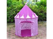 Pink Fairy Princess Castle Pop Up Play Tent Best Gift for Kid
