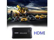 Portable Full 1080p HD Hard Disk Media Player HDMI, Av Output, 2 Inputs Sd Card & USB Reader & SATA or IDE Hard Disk, Digital Auto-play & Loop-play(Support RM/RMVB (Real8/9/10) /3D Video Decoding)