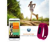 Bluetooth Smart Sports Pedometer Bracelet Soft Comfortable Silicone Wrist Band Android APP Sync