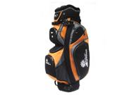 PALM SPRINGS GOLF 14 Divider Cart Bag - Orange