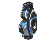 PALM SPRINGS GOLF 14 Divider Cart Bag - Blue