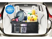 3 Section Portable Collapsible Heavy Duty Double Side Zip Coller Car Trunk Organizer