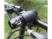 GPCT Cree Q5 LED Bike Cycle Zoomable Twin Front Torch Head Light Set