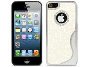 Luxury Aluminum S-line Football Pattern Cover Case for Apple iPhone 5
