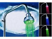 7-Color Changing LED Water Pressure Sensor Showerhead