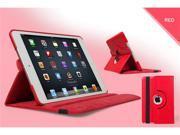 iPad Mini 360° Rotating PU Leather Stand Case, Screen Protector, Stylus, Microfiber Cloth