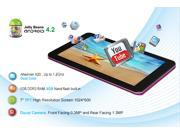 "KOCASO M770 Dual-Core Dual Camera 8GB  HDMI  TFT Android 4.2  7""  Tablet PC,Support external 3G dongle!"