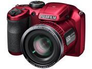 Fuji FinePix S4800 16 MP Digital Camera 30x Zoom Stabilizer Macro HD 720p Red