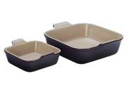 Le Creuset 8x8-in. Square Heritage Collection Baking Dish with Bonus Baker, Cassis
