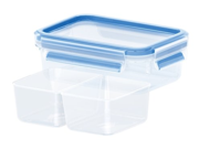Emsa by Frieling 34-oz. Clip & Close Food Storage Container with Inserts