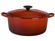 Le Creuset 3.5-qt. Round Cast-Iron Signature Enameled French Oven, Cherry