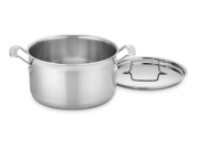 Cuisinart 6-qt. Stainless Steel MultiClad Pro Saucepot with Lid