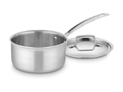 Cuisinart 2-qt. Stainless Steel MultiClad Pro Saucepan with Lid