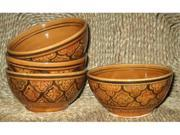 Le Souk Ceramique Set of 4 Honey Soup and Cereal Bowls