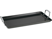 Cuisinart 10x18-in. Ceramic Nonstick Green Gourmet Hard Anodized Double Burner Griddle