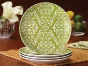 Rachael Ray Set of 4 Curly-Q Salad Plates