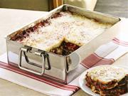CHEFS 15x11-in. Stainless Steel Lasagna Pan