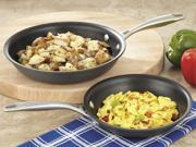 CHEFS 2-pc. Hard anodized Fry Pan Set