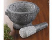 CHEFS Granite Mortar and Pestle