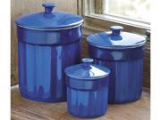 CHEFS 3-pc. Canister Set, Blue