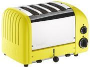 Dualit 4-slice Classic Toaster, Citrus Yellow