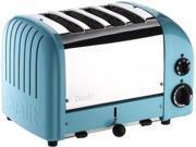 Dualit 4-slice Classic Toaster, Azure Blue