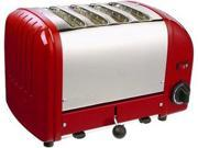 Dualit 40417 Red 4 Slice Bread Toaster
