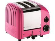 Dualit 2-slice Classic Toaster, Chilly Pink